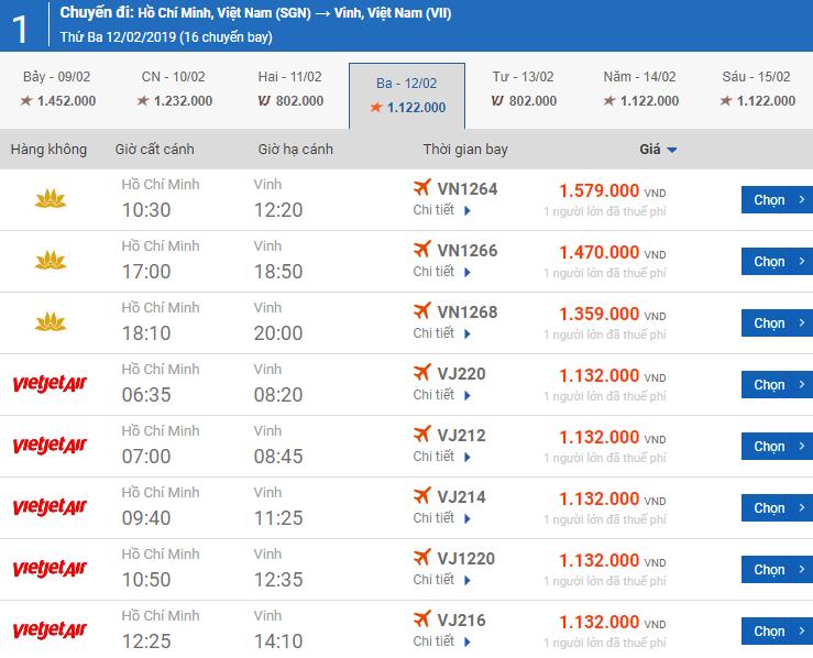 Giá vé máy bay bamboo airways