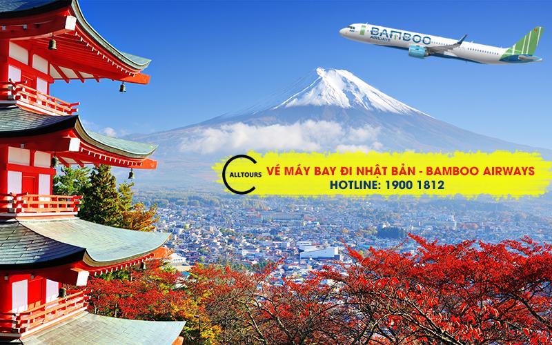 Vé máy bay đi Nhật Bản của Bamboo Airways