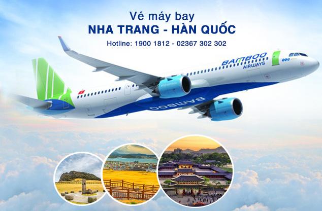 Vé máy bay Nha Trang đi Hàn Quốc của Bamboo Airways
