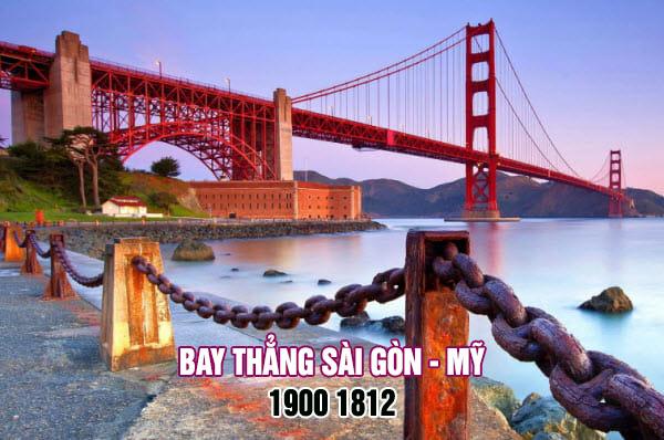 Vé máy bay Sài Gòn đi Mỹ của Bamboo Airways